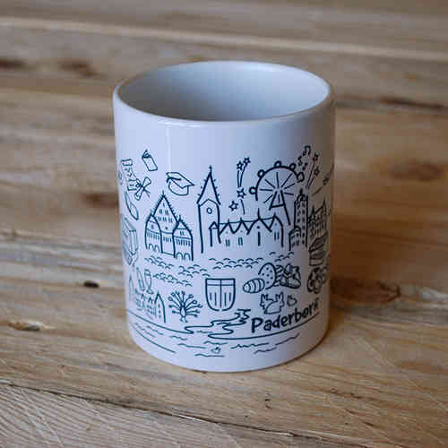 "Tasse - ""Paderborn Collage"""