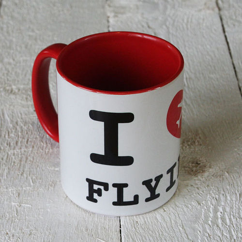 "Tasse - ""I love flying"""