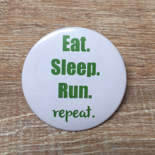 "Magnet-Flaschenöffner - ""Eat. Sleep. Run. Repeat."""