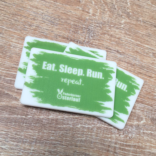 "Magnet - ""Eat. Sleep. Run Repeat. - Paderborner Osterlauf"""