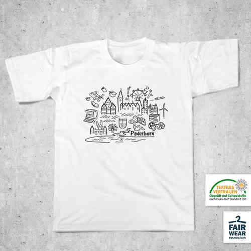 "Kinder T-Shirt - ""Paderborn Collage"""